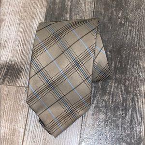 BURBERRY vintage silk tie